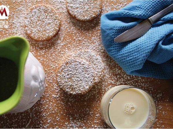 Cookie pies con ricotta e cioccolato bianco