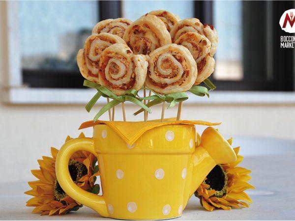 Bouquet di lecca-lecca sfogliati