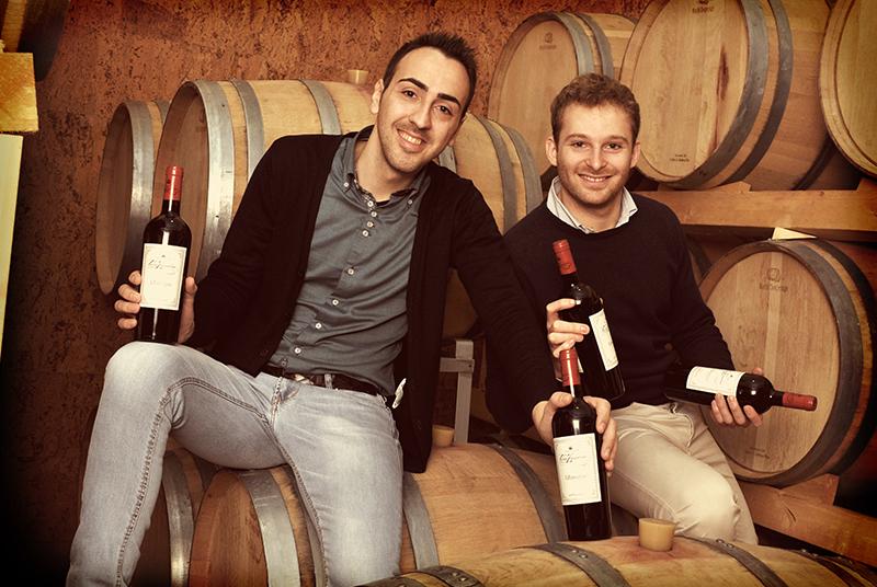 Fondatori wineOwine   Federico De Cerchio ed Eros Durante