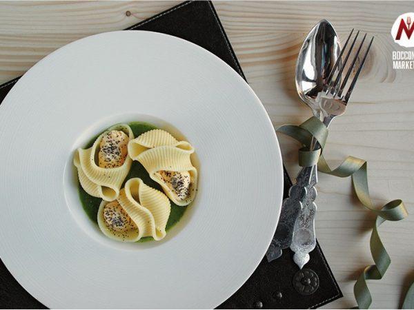 Lumaconi salmone e zucchine