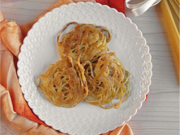Frittelle di spaghetti